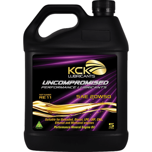 KCK Lubricants RE11 20w50 Performance Mineral Engine Oil