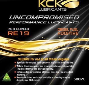 KCK Lubricants RE19 Diesel System Conditioner