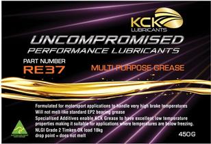 KCK Lubricants RE37 Multi Purpose Grease