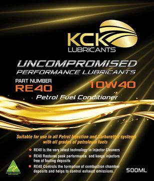 KCK Lubricants RE40 Petrol Fuel Conditioner