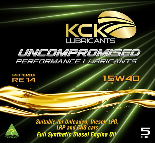 KCK Lubricants RE14 Synthetic Engine Oil 15w40