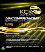 KCK Lubricants RE79 DOT Motorsport Brake Fluid 320 Deg c